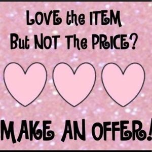Offers and Counteroffers are Welcome!